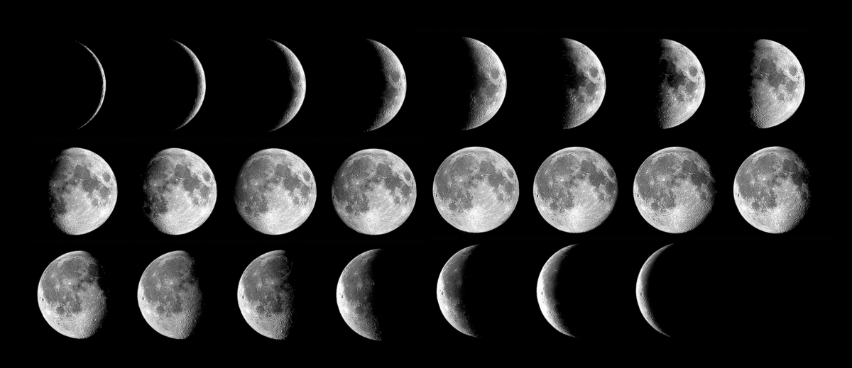 月球小知識:月有陰晴圓缺