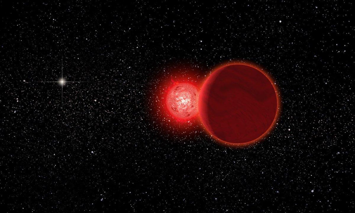 舒爾茨星曾近掠太陽  七萬年前人類或可見