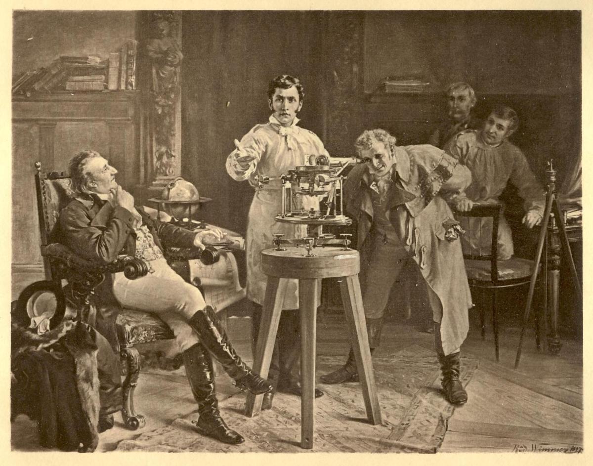 玻璃中的天文物理:約瑟.馮.夫琅和費(Joseph von Fraunhofer)